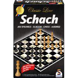 Schach mit großen Figuren