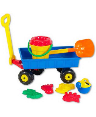 Handwagen mit Sandset...