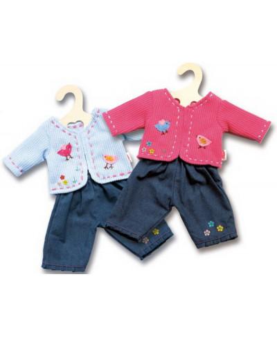 Puppen-Jacke mit Jeans...
