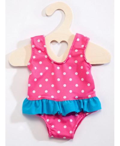 Puppen-Badeanzug pink,...