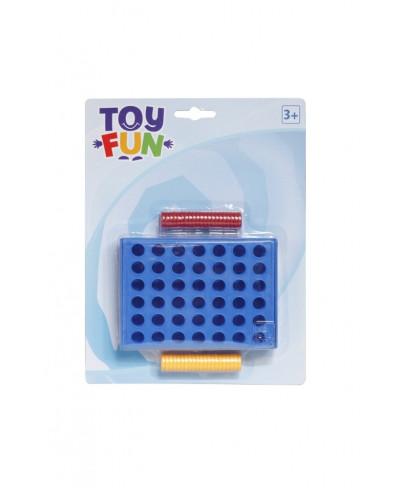 Toy Fun Vier in einer Reihe